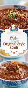 Collage of chilis original style chili photos