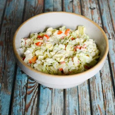 A bowl of Captain D's Cole Slaw