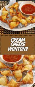 fried cream cheese wontons