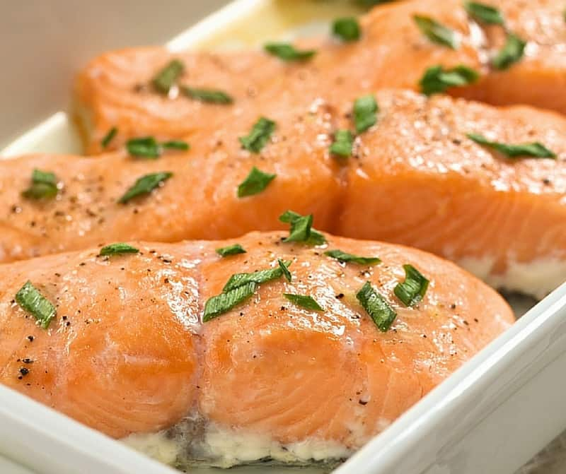 simple baked salmon perfect for a weeknight. Black Bedroom Furniture Sets. Home Design Ideas