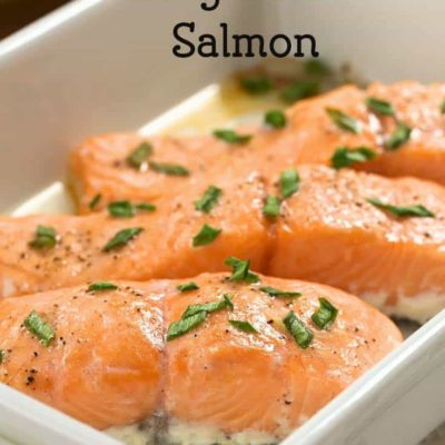 Simple Salmon Recipe that's perfect for a weeknight.
