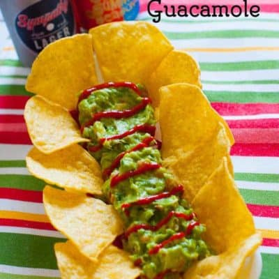 Sriracha Guacamole adds something special to ordinary Guacamole.