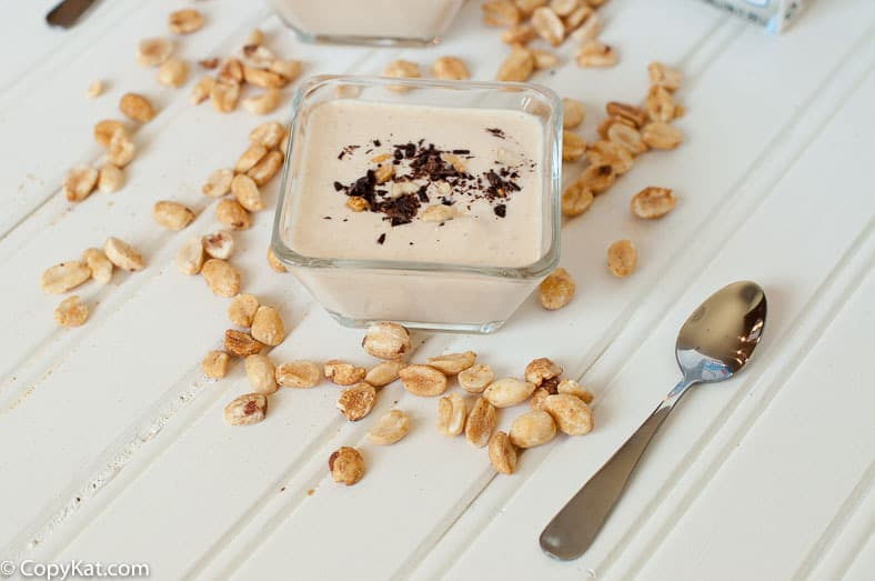 Chocolate and Peanut Butter Yogurt Cup from CopyKat.com