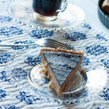 Make this almost no bake chocolate peanut butter pie. It's so easy, and so delicious.