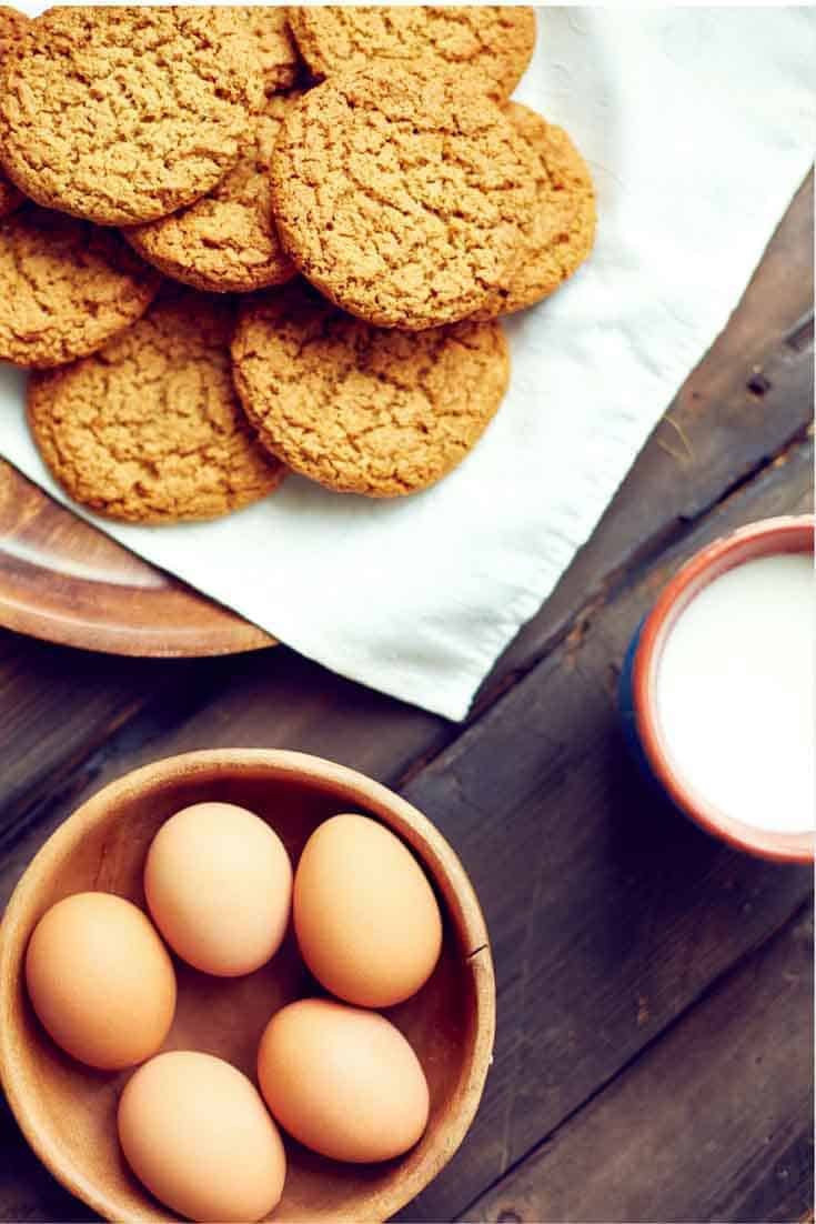 Gingersnap cookies are so much better when you make them from scratch.