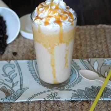 Starbucks Caramel Frappuccino Copycat Recipe