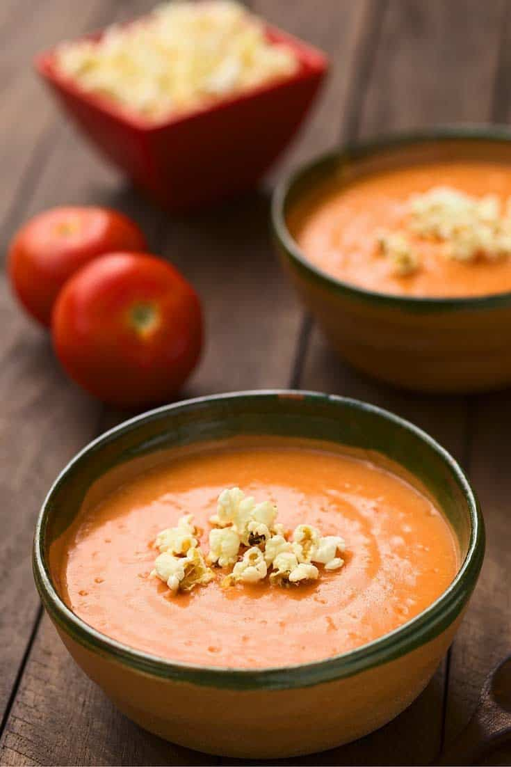 Make this easy to prepare tomato soup.  You will love this  easy recipe. Don't by a can when you can make fresh soup.