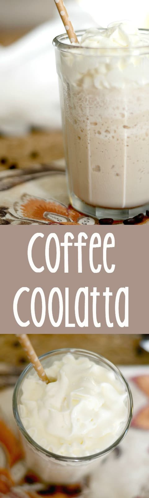Make your own Dunkin Donuts Coffee Coolatta at home with this copycat recipe.