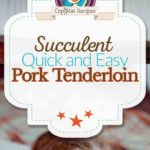 brown sugar bacon wrapped pork tenderloin photo collage