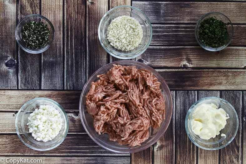 Greek meatballs ingredients