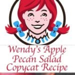 Wendy's Apple Pecan Salad photo collage