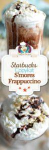 Starbucks S'mores Frappuccino photo collage
