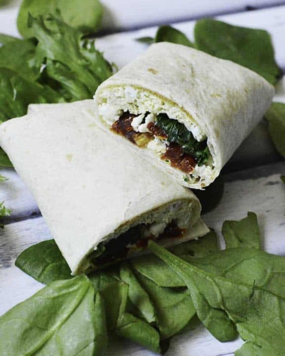 Make your own Starbucks Spinach Feta Wrap at home, and save money!