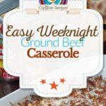Ground Beef Casserole photo collage