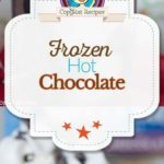 Frozen Hot Chocolate photo collage