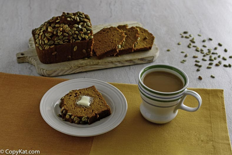 Make delicious Starbucks Pumpkin bread at home with this easy copycat recipe.