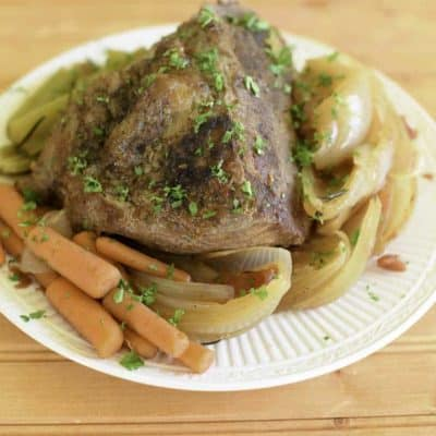 Even if you have never made a pot roast before, you can make a delicious braised pot roast with this easy recipe.