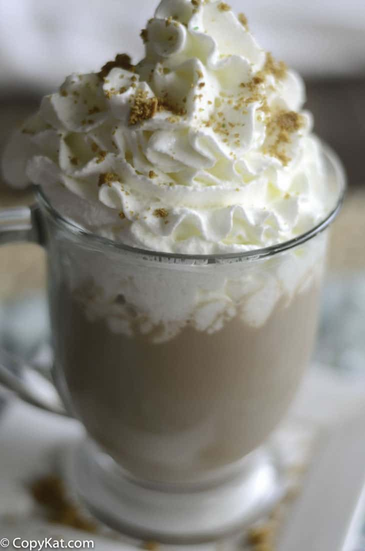 You can recreate the Starbucks Snickerdoodle Hot Chocolate at home with this recipe.