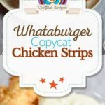 homemade Whataburger chicken strips photo collage