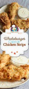 homemade Whataburger chicken strips photo collage