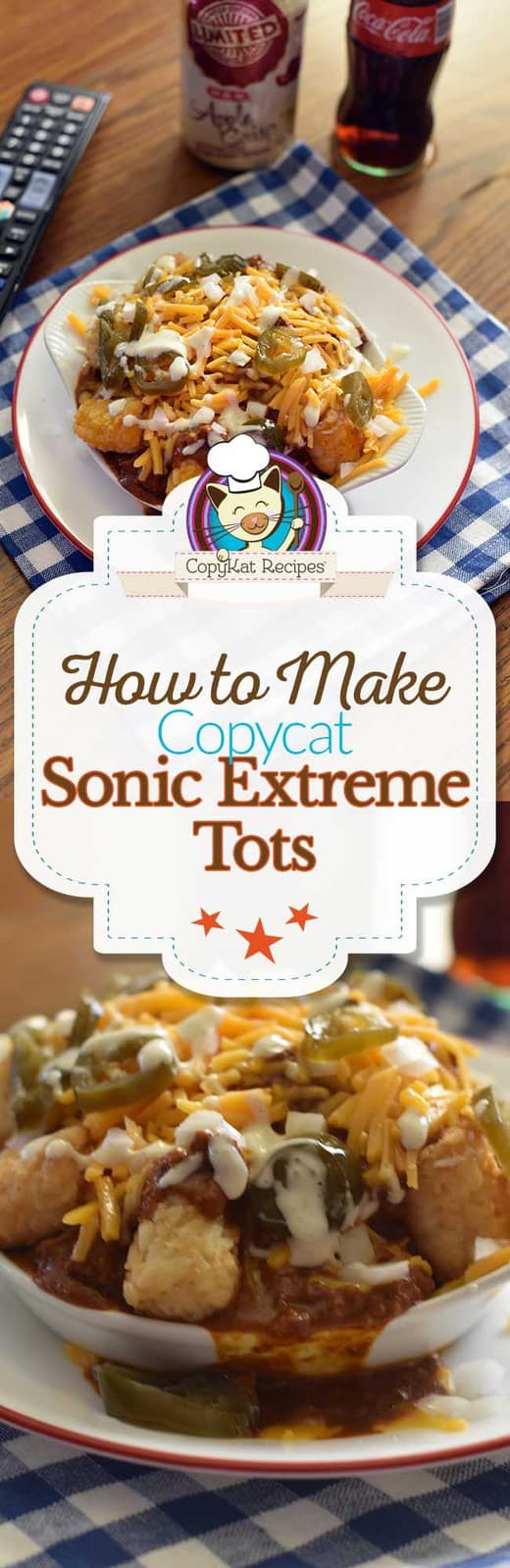 Make your next game or movie night fun when you serve up a platter of Sonic Extreme Tots! #tatertots #sonic #copycat #recipe