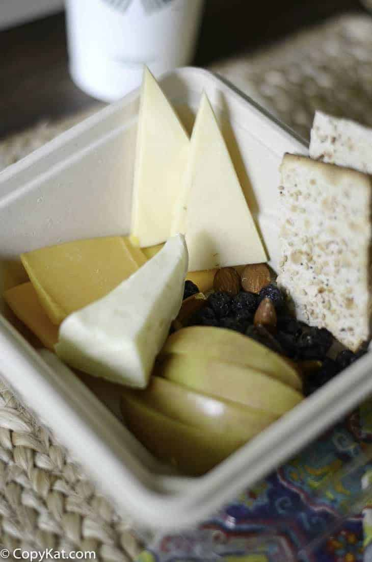 Make your own homemade Starbucks Cheese & Fruit Bistro Box at home with this copycat recipe.