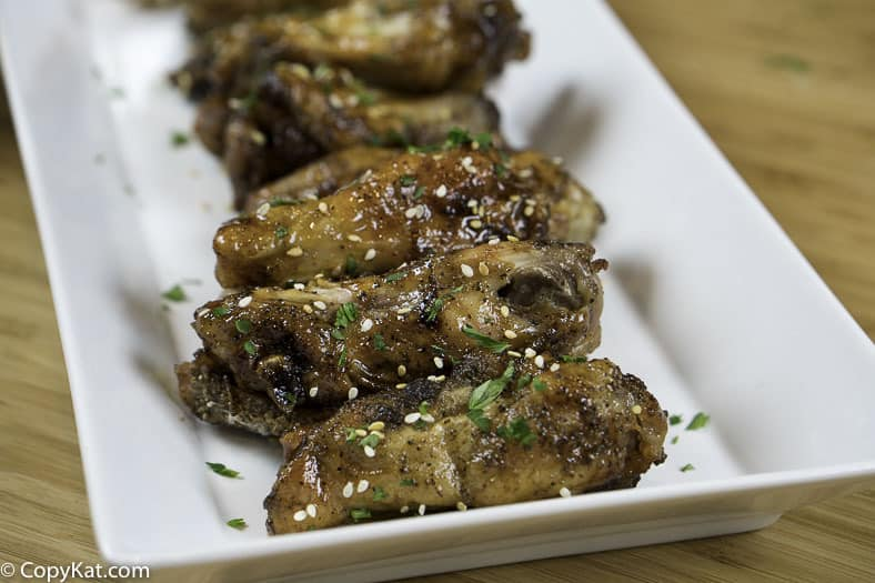 Make oven baked honey Sriracha wings, you won't believe just how crispy these wings are.