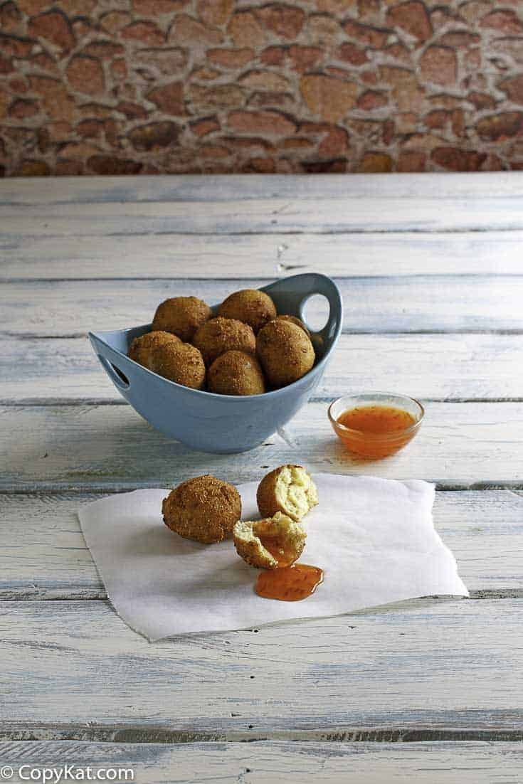 Recreate Captain Ds hush puppies at home with this easy copycat recipe.