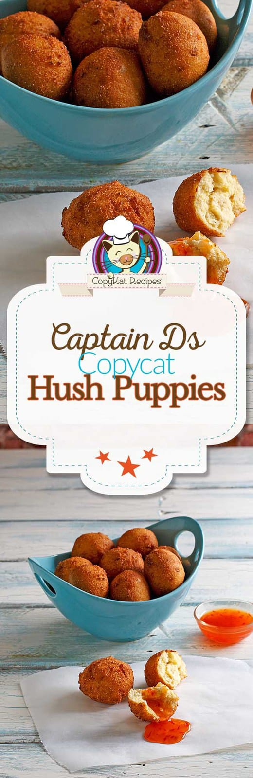 You can recreate Captain Ds hush puppies at home with this copycat recipe.