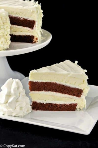 Make your own Cheesecake Factory Red Velvet Cheesecake at home with this copycat recipe.