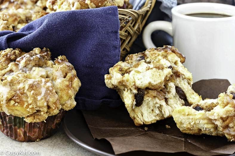 You can recreate the Panera Cobblestone Muffins at home with this copycat recipe.