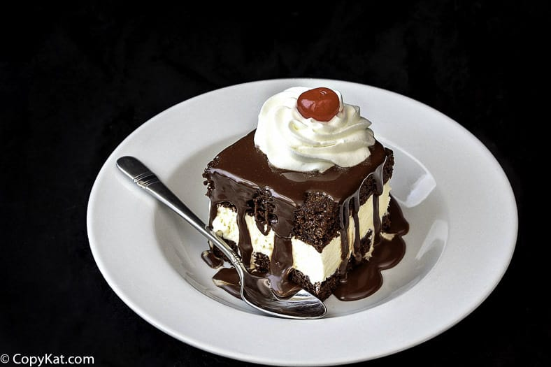 Make your own version of Shoney's Hot Fudge Cake at home with this copycat recipe.