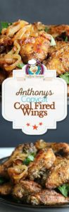Collage of homemade Anthony's Coal Fired Wings photos