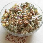 Make this amazing Bacon and Pea salad, it is the perfect side dish for your picnic.
