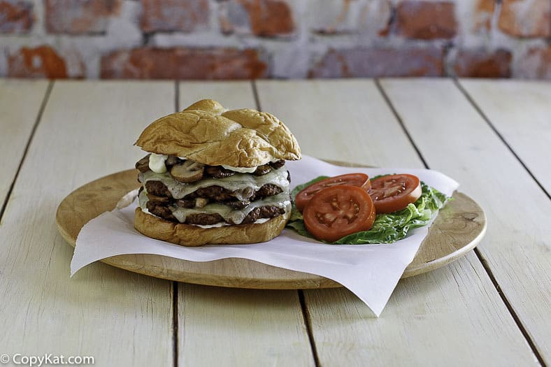 You can recreate a Smashburger Truffle Mushroom Swiss at home with this copycat recipe.
