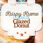 homemade Krispy Kreme glazed donuts photo collage