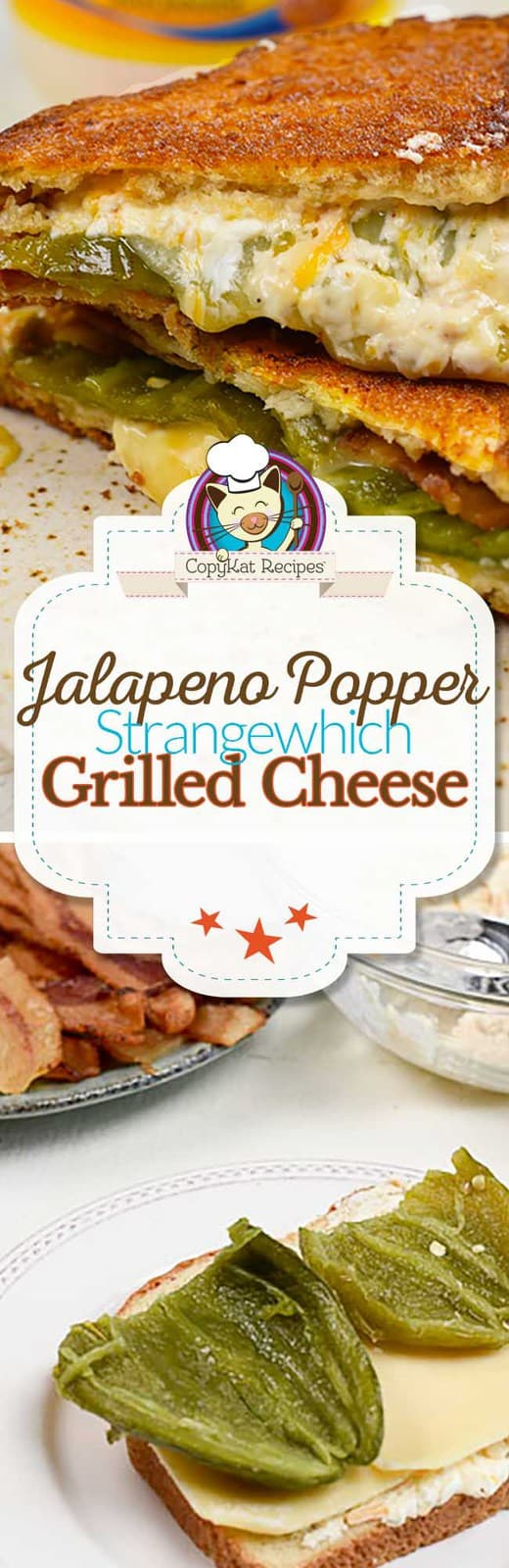 Love jalapeno poppers? Try your hand at this easy to make jalapeno popper grilled cheese sandwich today.