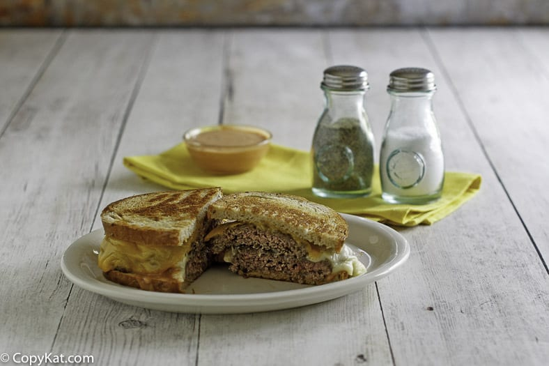 Enjoy a homemade Steak and Shake Frisco Melt at home with this easy copycat recipe.
