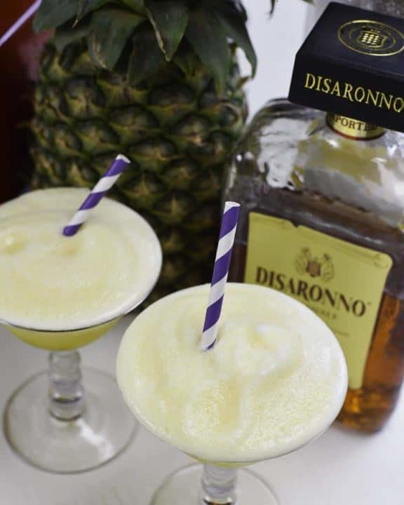 Prepare this tropical inspired cocktail called the windjammer freeze. It's so easy, and so delicious.