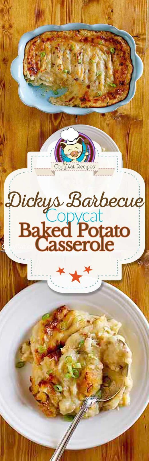 You can recreate Dickey's Barbeque Baked Potato Casserole with this easy recipe.