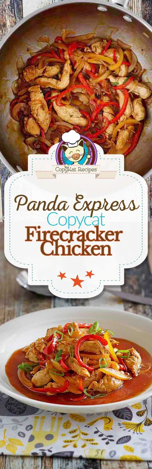 Make Panda Express Firecracker Chicken at home with this copycat recipe. It is the perfect chicken recipe for dinner!