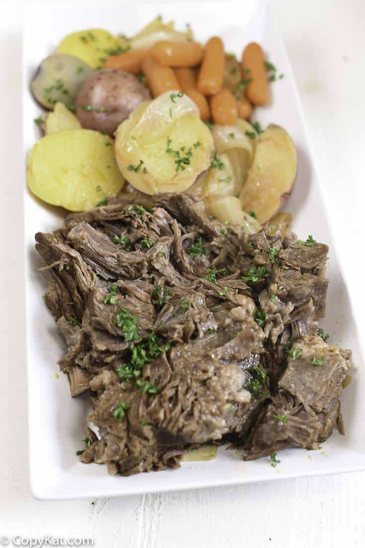 Pot Roasts made in your Instant Pot are flavorful, and easy to prepare. You can make a delicious Instant Pot - Pot Roast in less time with this recipe.
