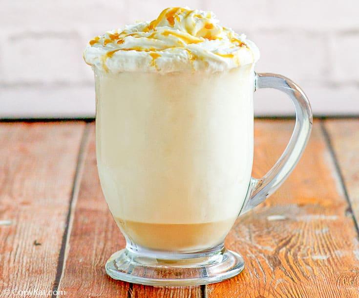Mcdonald S Mccafe Caramel Cappuccino