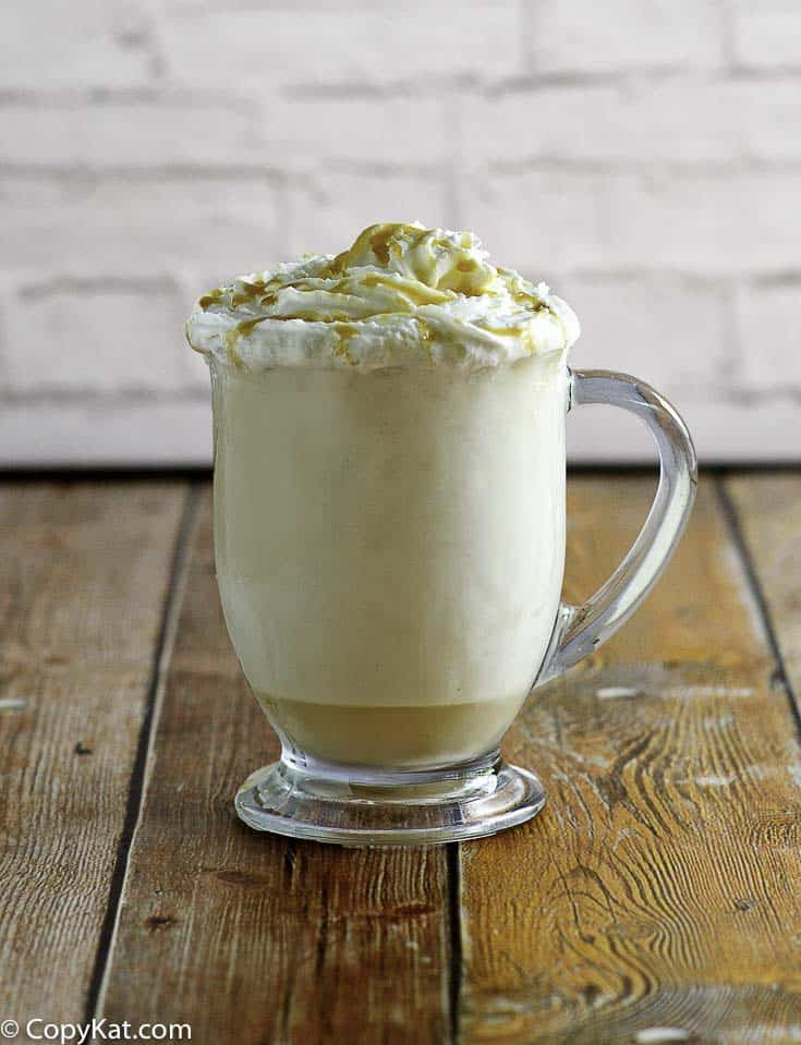 You can make your own McDonald's Caramel Frappe at home with this copycat recipe.