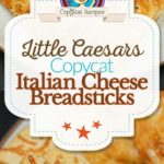 Little Caesars Italian Cheese Breadsticks photo collage