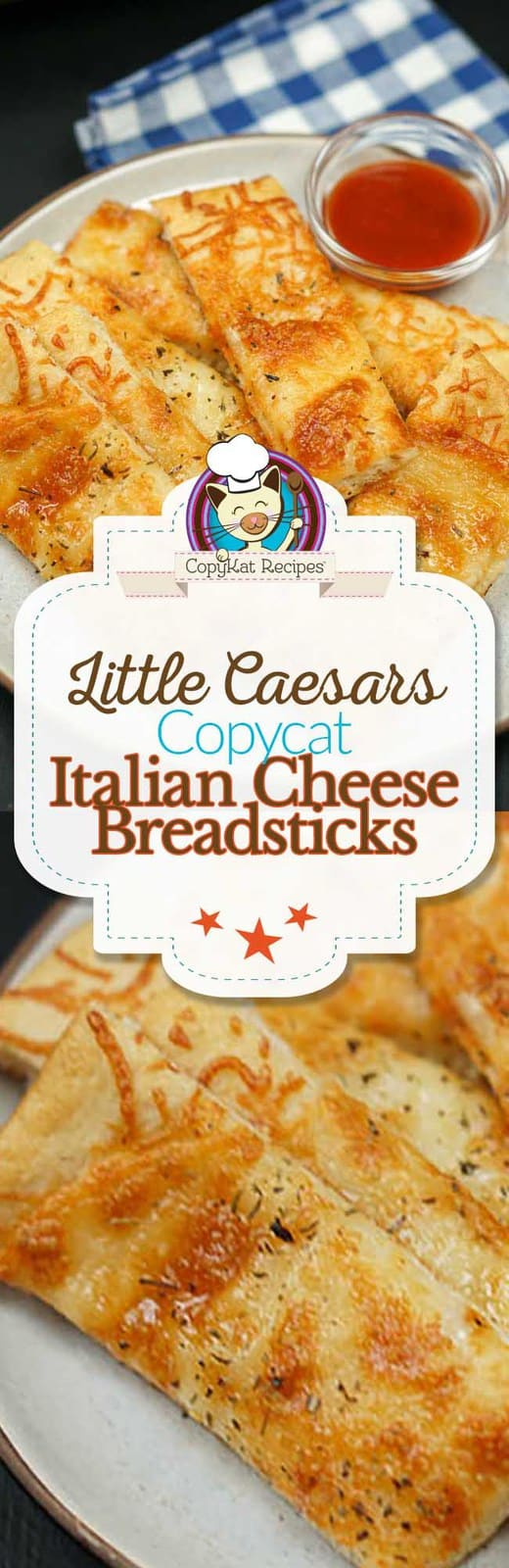 Little Caesars Italian Cheese Breadsticks can be made at home with easy copycat recipe.