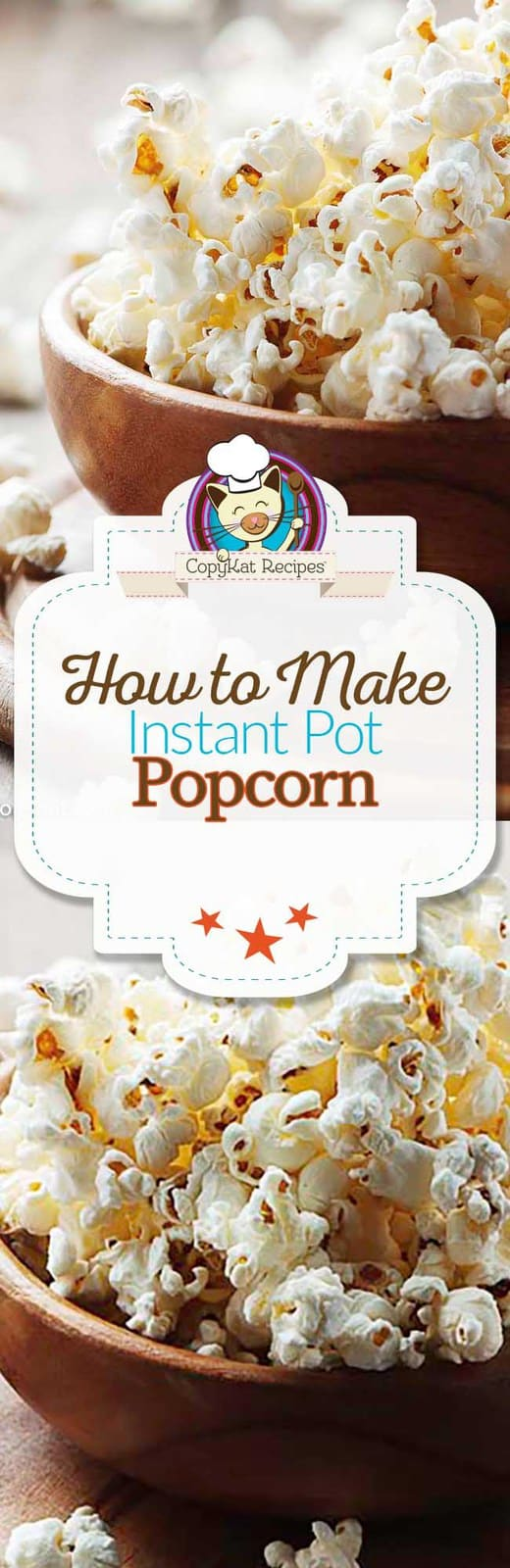 Make Popcorn in your Instant Pot!