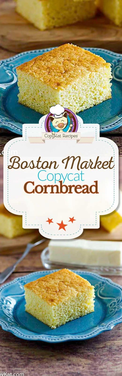You can recreate the Boston Market Cornbread at home with this copycat recipe. #recipe #homemade #cornbread #easy #jiffy #Fromscratch