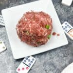 Dired beef makes this cheeseball taste amazing. Cheese balls are so easy to make from scratch.