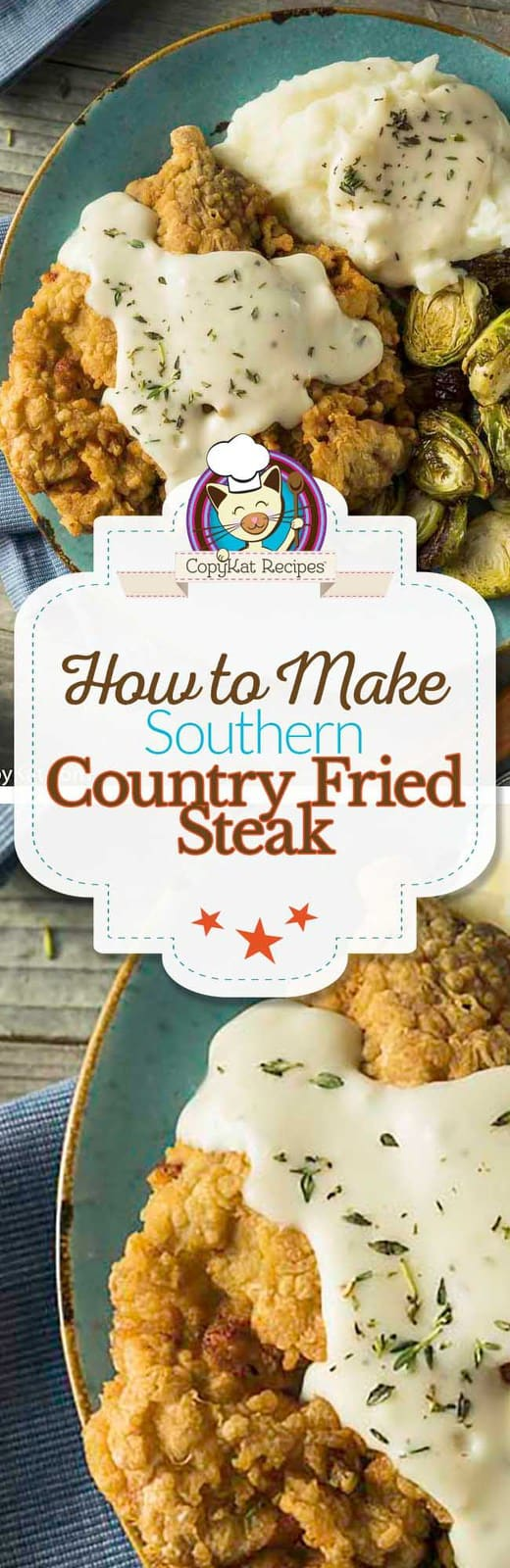 Recreate this classic Southern Chicken Fried Steak at home.